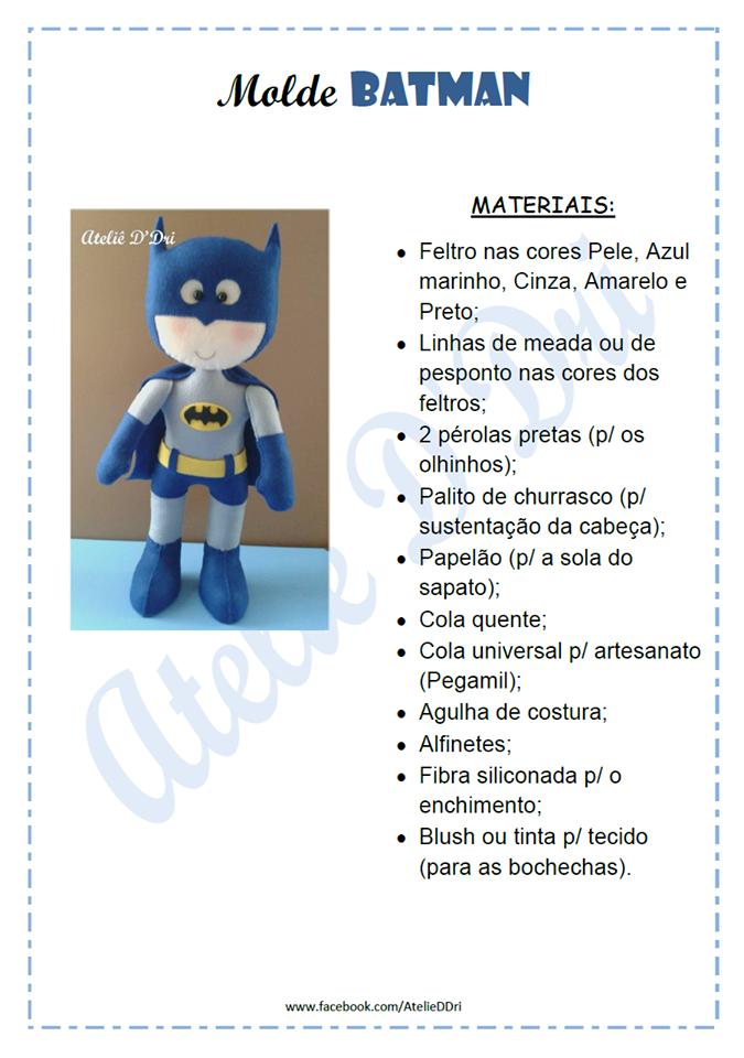 Super Heróis com moldes e passo a passo | MARVEL SUPER HEROES DOLLS ...