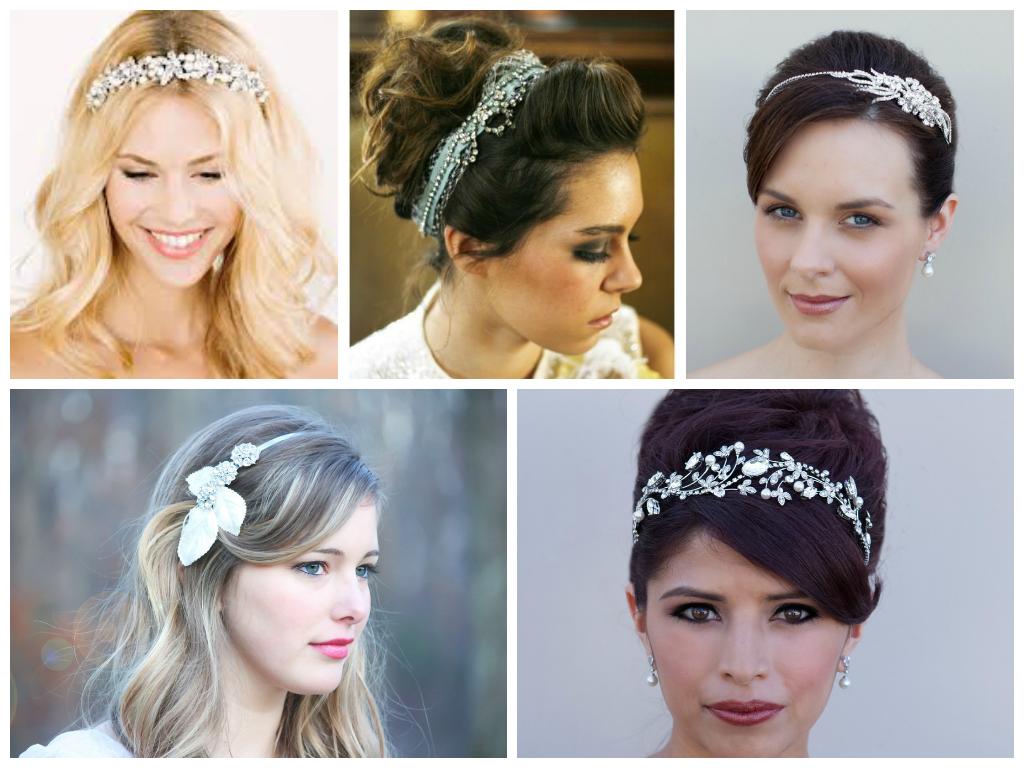 Popular bridal headbands rhinestone headbands are a bridal
