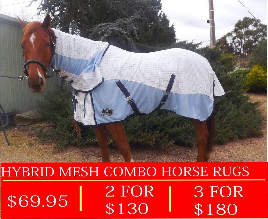 Unicorn Hybrid Mesh Combo Horse Rug Rugs Summer Horses