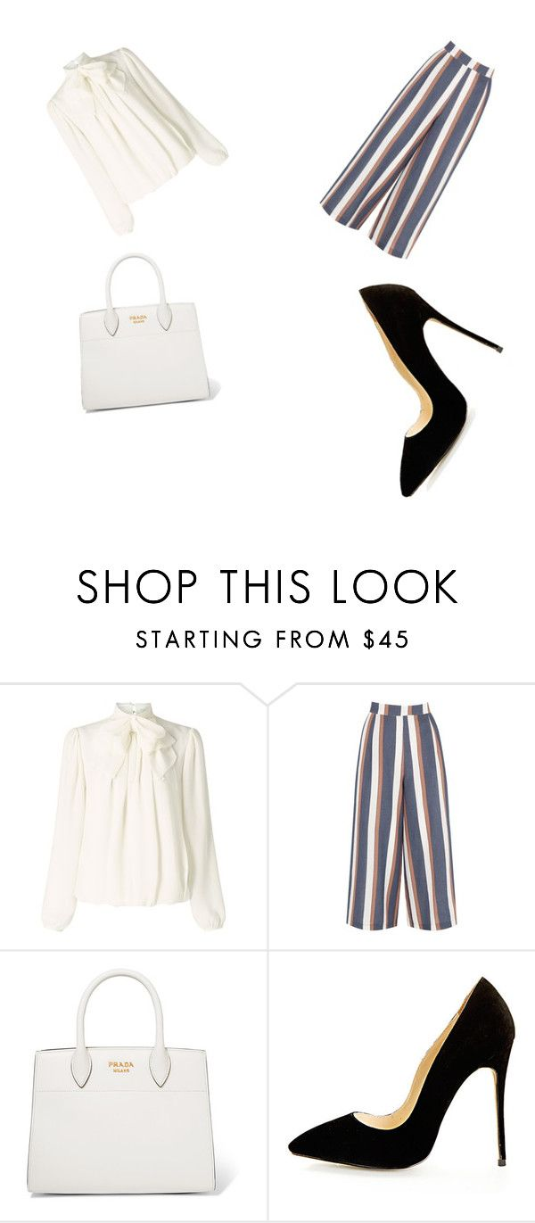 """""""Untitled #5"""" by mihnybogdy ❤ liked on Polyvore featuring Somerset by Alice Temperley, Warehouse and Prada"""
