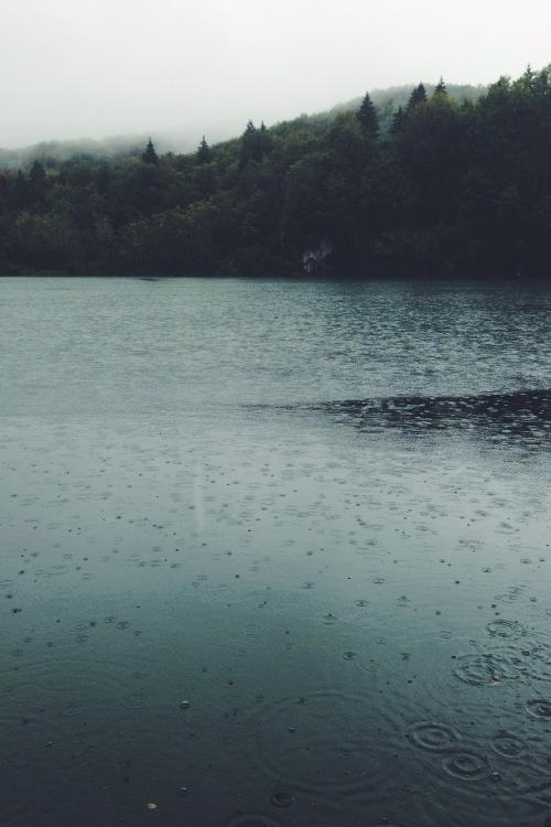 Rain ~ Plitvice National Park, Croatia | By Ariel Rosso
