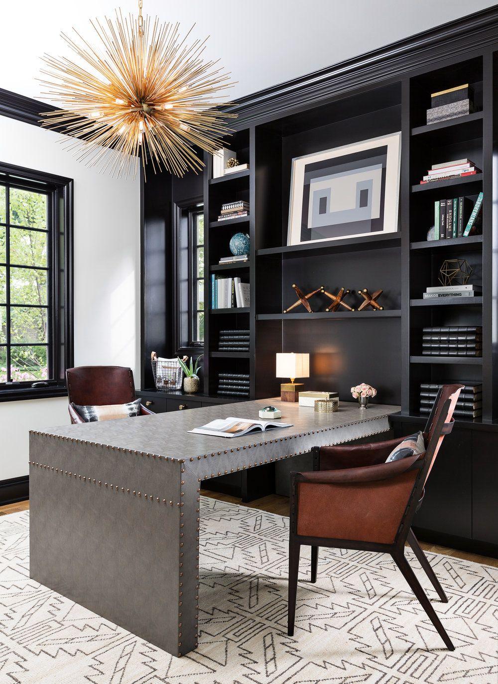 Portfolio — DAYNA FLORY Home office design, Home office