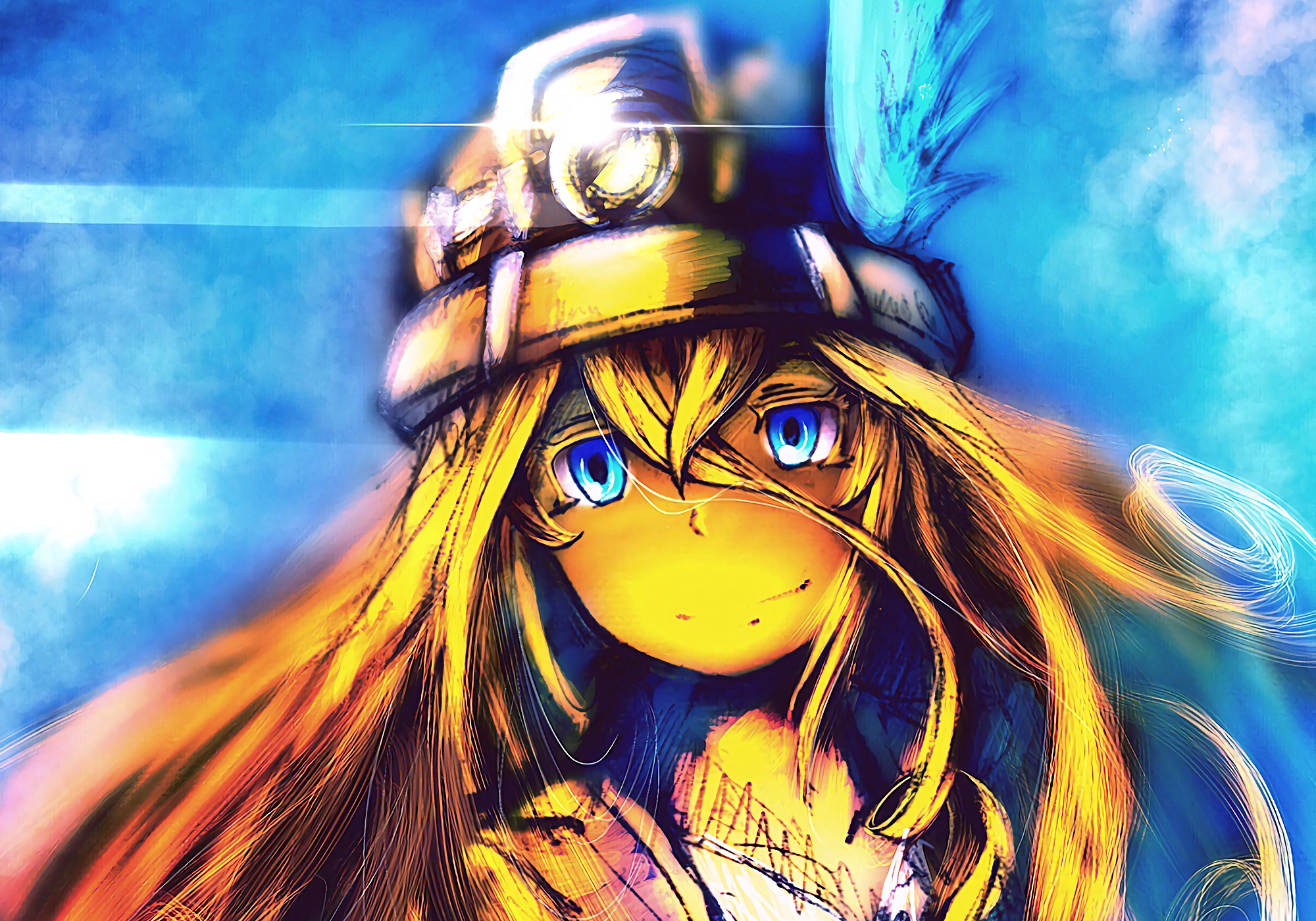 Anime Made In Abyss Regu (Made in Abyss) Fondo de Pantalla