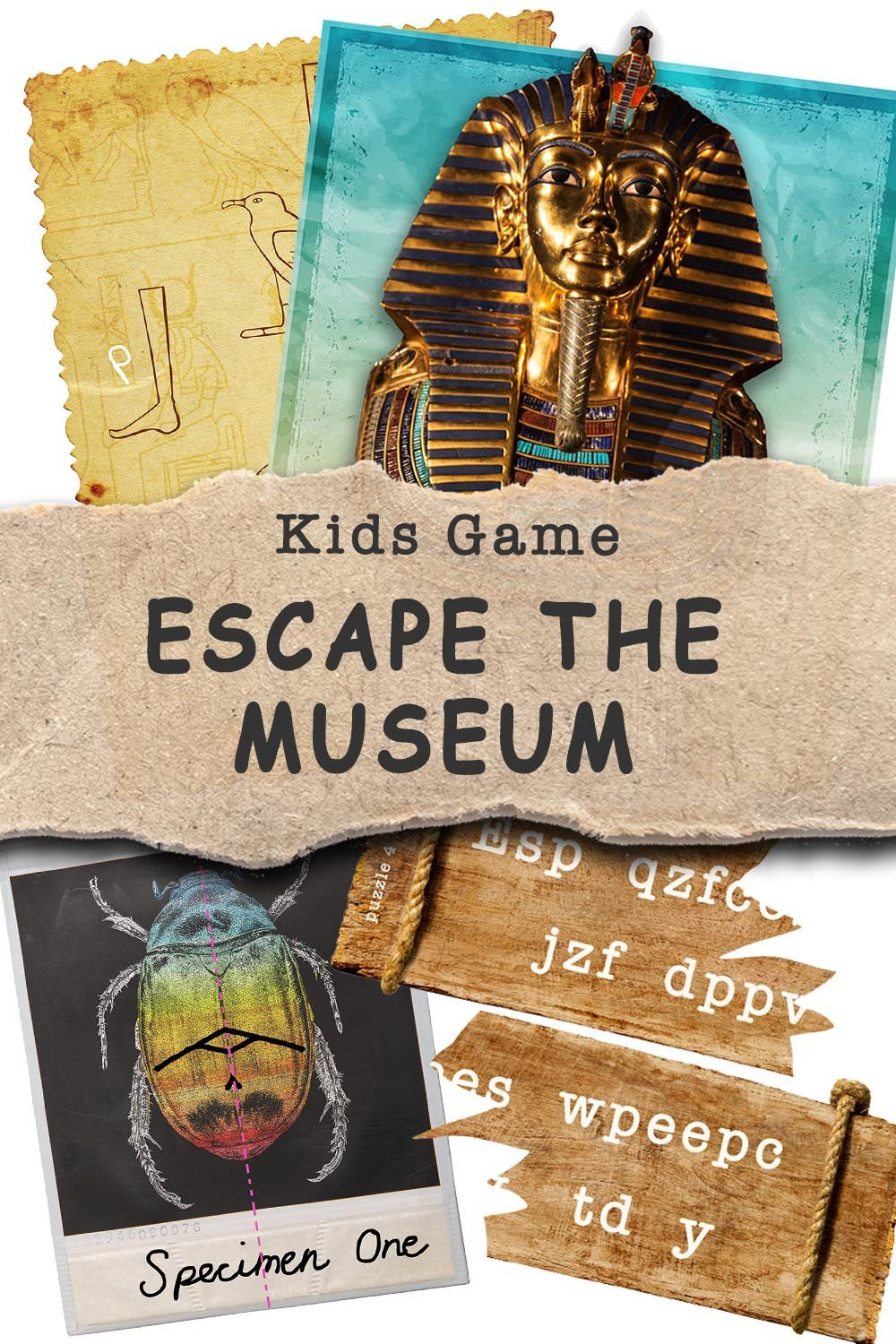 Pin on Escape Room For Kids