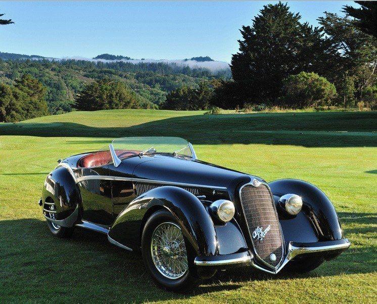 1938 Alfa Romeo 8c 2900b Spider  Touring Alfa Romeo