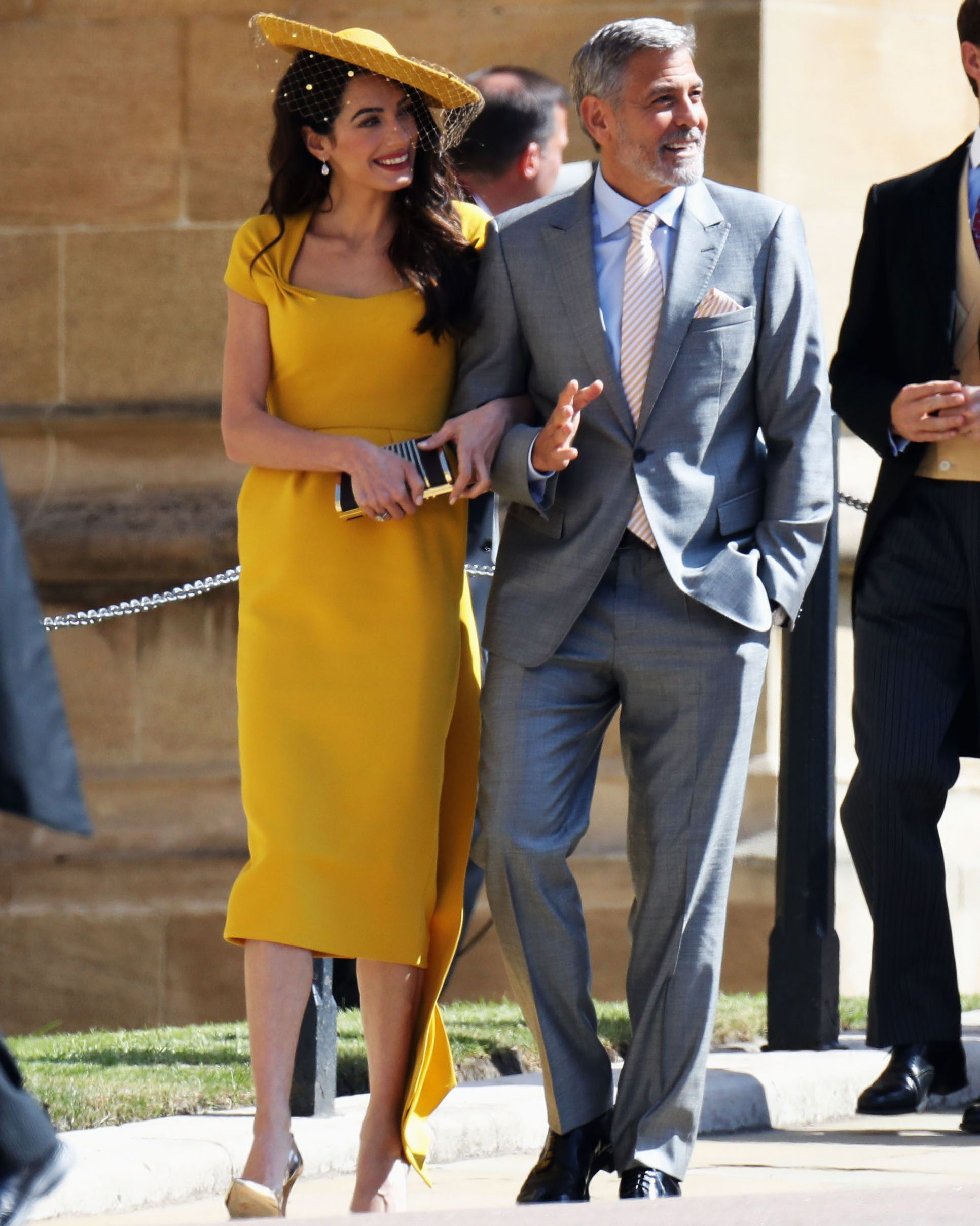 9f100e272bfc2 Royal Wedding Celebrity Guest Arrivals Include  Suits  Stars