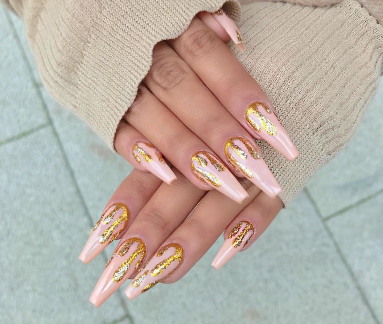 Pin by Dee🧡✨ on CLAWS✨   Pinterest   Nail nail and Coffin nails