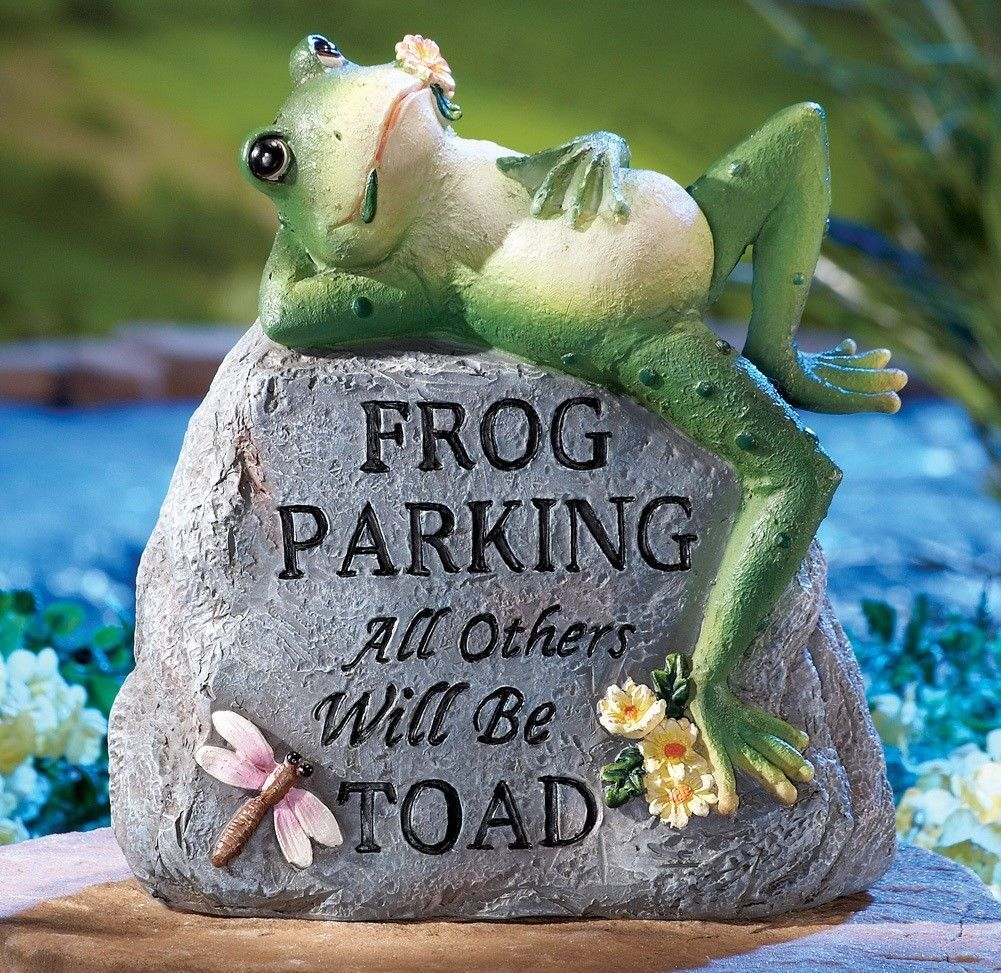 statues and lawn ornaments 29511 toad frog parking dragonfly rh pinterest com