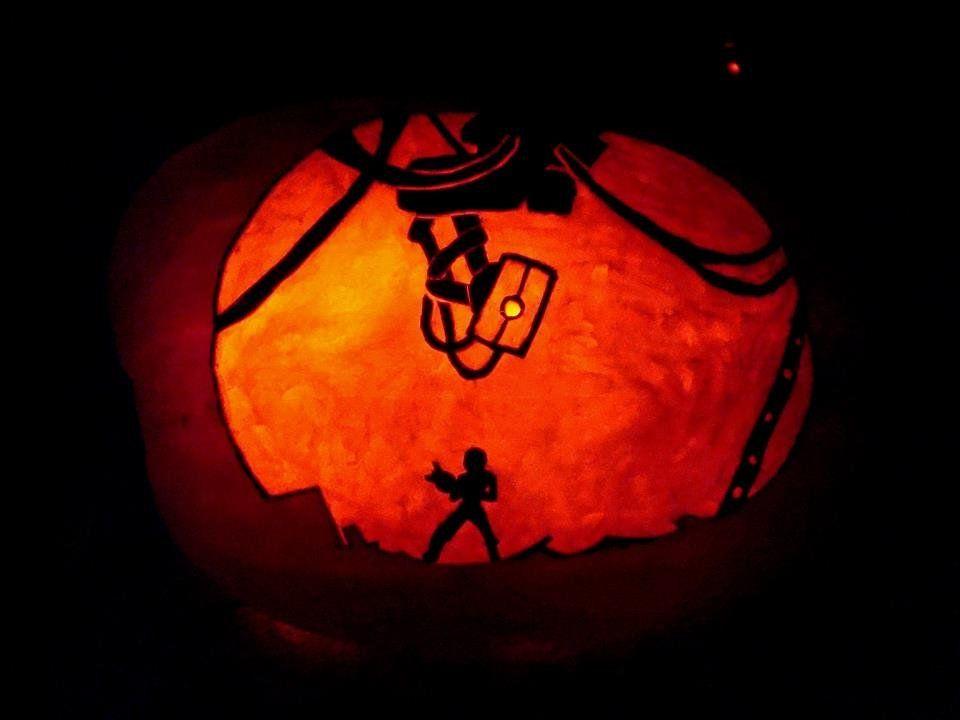 Portal Pumpkin   Pumpkin Bumpkin   Pinterest   Portal