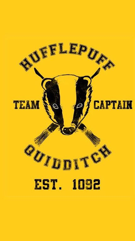 Hufflepuff Quidditch iPhone 5 wallpaper