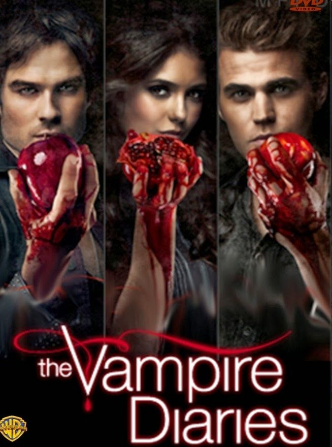 Capa Da 8ª Temporada Vampire Diaries Vampiro The Vampire Diares