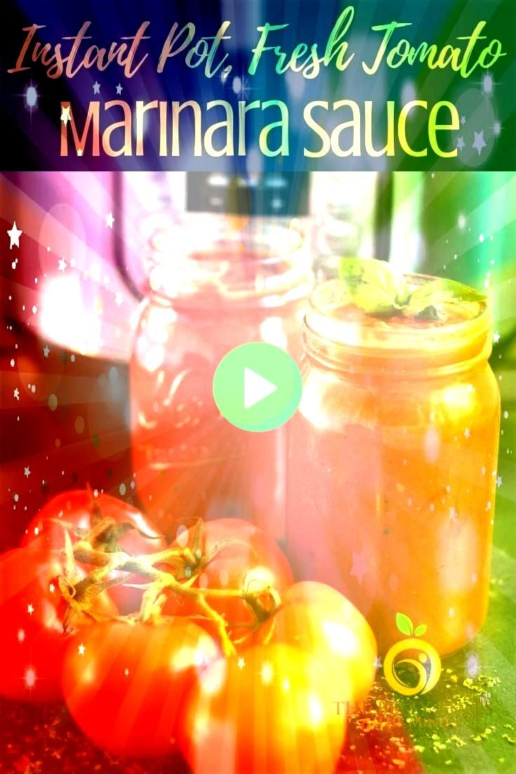 Marinara Sauce with Fresh Tomatoes  The Belly Rules The Mind  Recipes to try Instant Pot Marinara Sauce with Fresh Tomatoes  The Belly Rules The Mind  Recipes to try  An...
