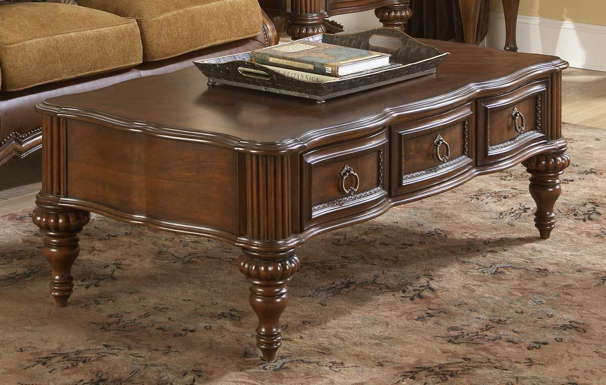 Classic Coffee Table With Drawers Traditional Coffee Table Coffee Table With Drawers Coffee Table [ 763 x 1200 Pixel ]