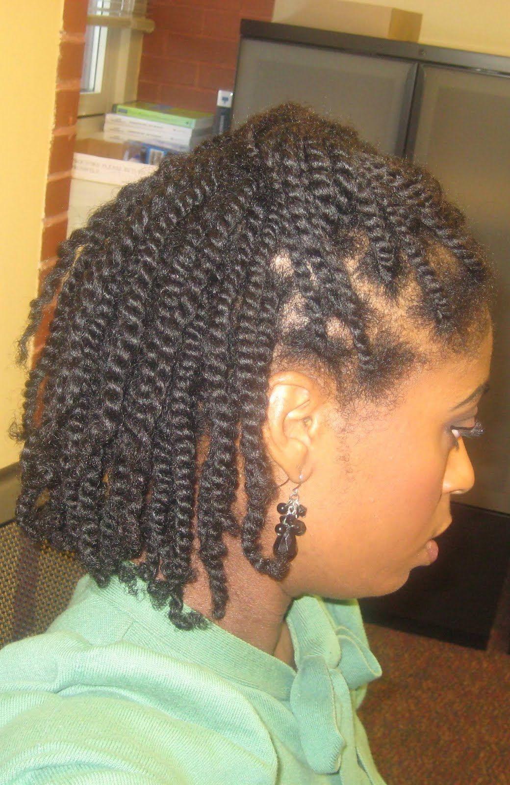two strand twist | naturally elegant: hair today: two-strand