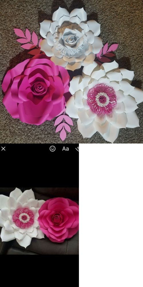 Flower embellishments 160734 paper flowers buy it now only 45 flower embellishments 160734 paper flowers buy it now only 45 on ebay mightylinksfo Choice Image