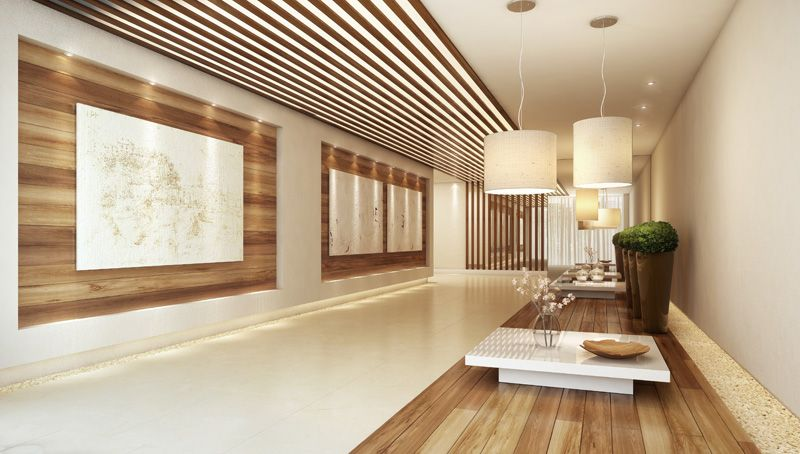 Hall Edificio Portal De Vivienda Diseño Del Hall De Entrada Oficinas De Diseño