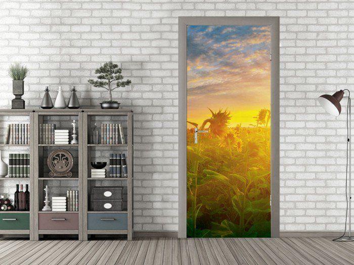 wanddekoration wanddeko deko ideen babyzimmer farbpalette tuer - wanddeko für wohnzimmer
