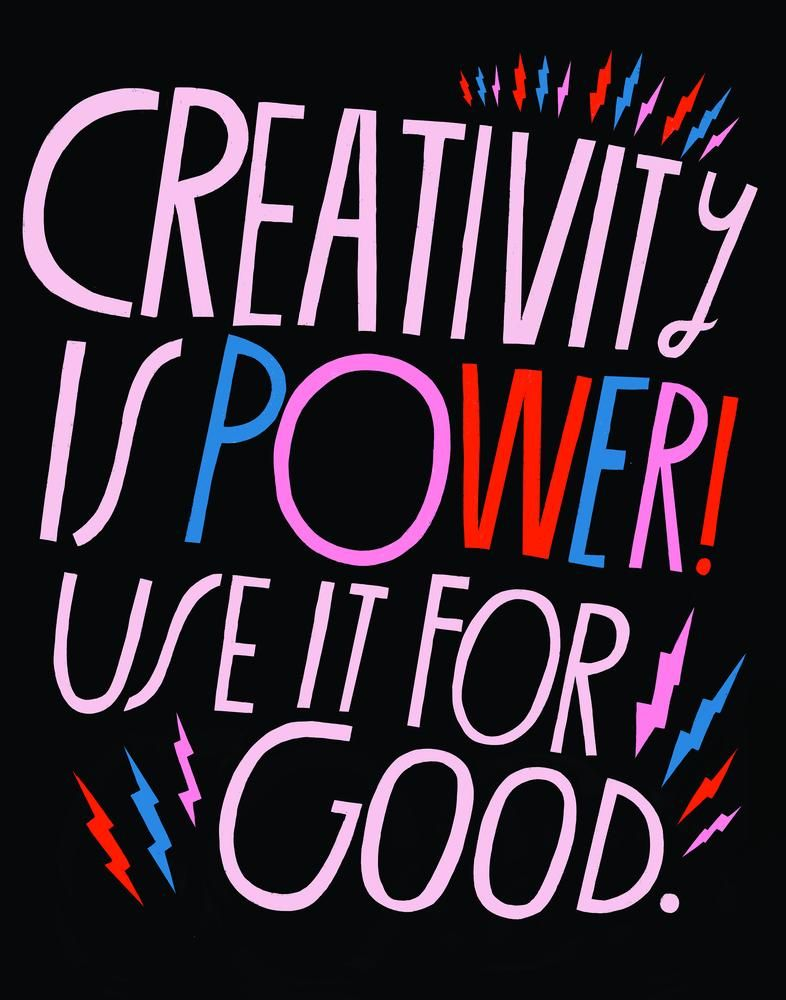 Creativity Is Power Art Print Lisa congdon, Art prints