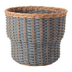 STENBÄR cache-pot, gris Hauteur: 24 cm Diamètre extérieur: 27 cm ...