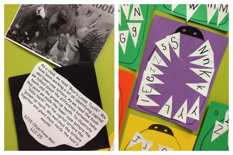 Bear S Loose Tooth By Karma Wilson Literacy Activity