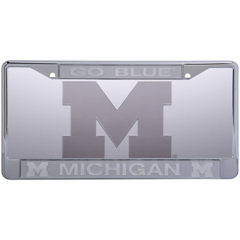 Michigan Wolverines Frost License Plate & Frame Set | Michigan ...