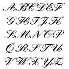 Types Of Font Styles ABC