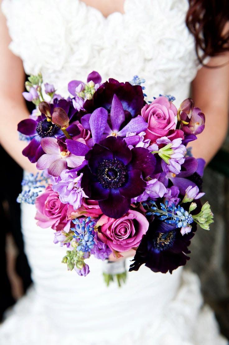 ¡Hola! Hace tiempo que no hablamos de bodas asique hoy os traigo una parte importante de ellas. El ramo de la novia.   Rosas, amarillos, na...
