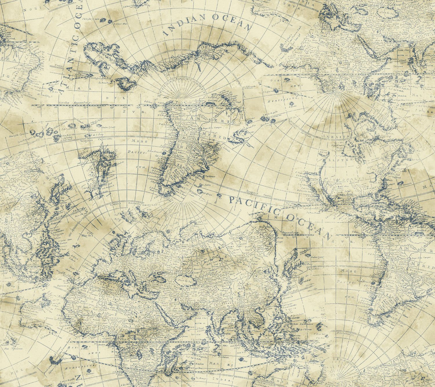 Nautical living coastal map 27 x 27 wallpaper coastal wallpaper nautical living 27 x 27 coastal map wallpaper roll gumiabroncs Image collections