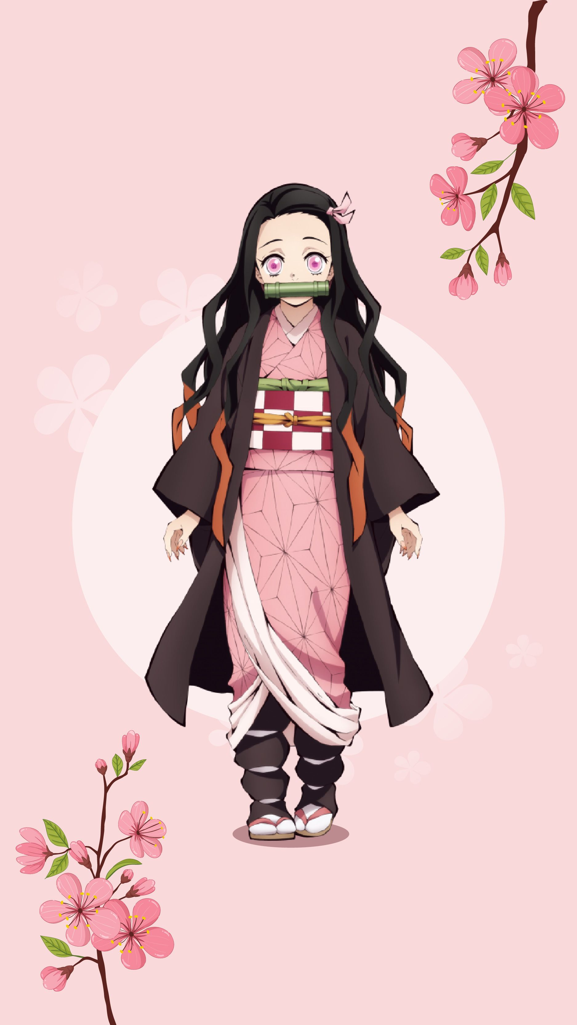 Demon Slayer Nezuko Phone Wallpaper Anime Demon Anime Wallpaper Cute Anime Character