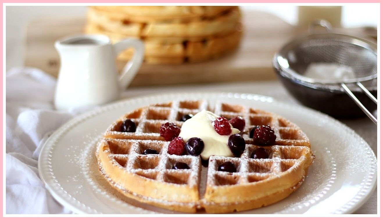 56 reference of sweet waffle recipe without waffle maker