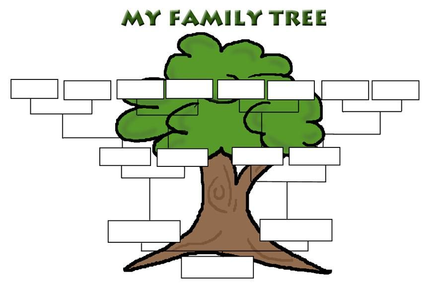 Simple Family Tree Templates | You Can Also Check Out The Children