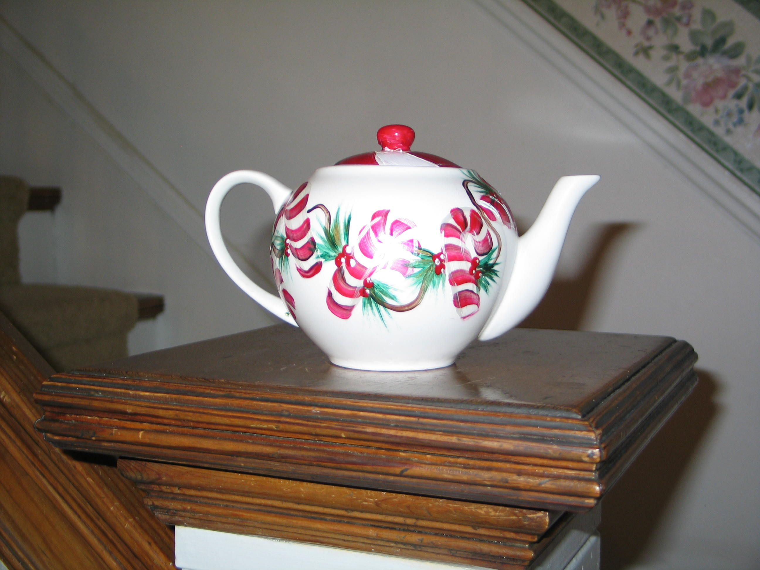 One of my most fun teapots.