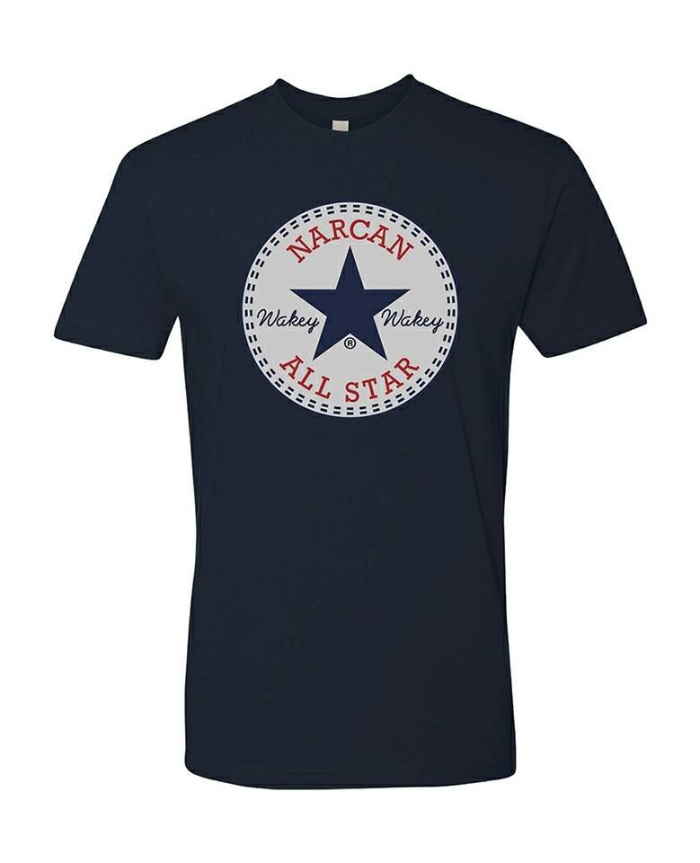 Narcan All Star T-shirt  ems  nursing  Firefighter  Paramedic  medic  emt   emergencyroom 3b7e968ced68