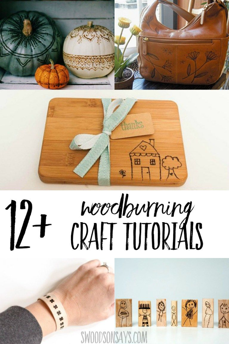 craft wood burner projects to try | wood burning tips | crafts