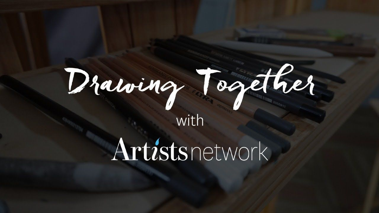 Drawing together with artists network youtube in 2020