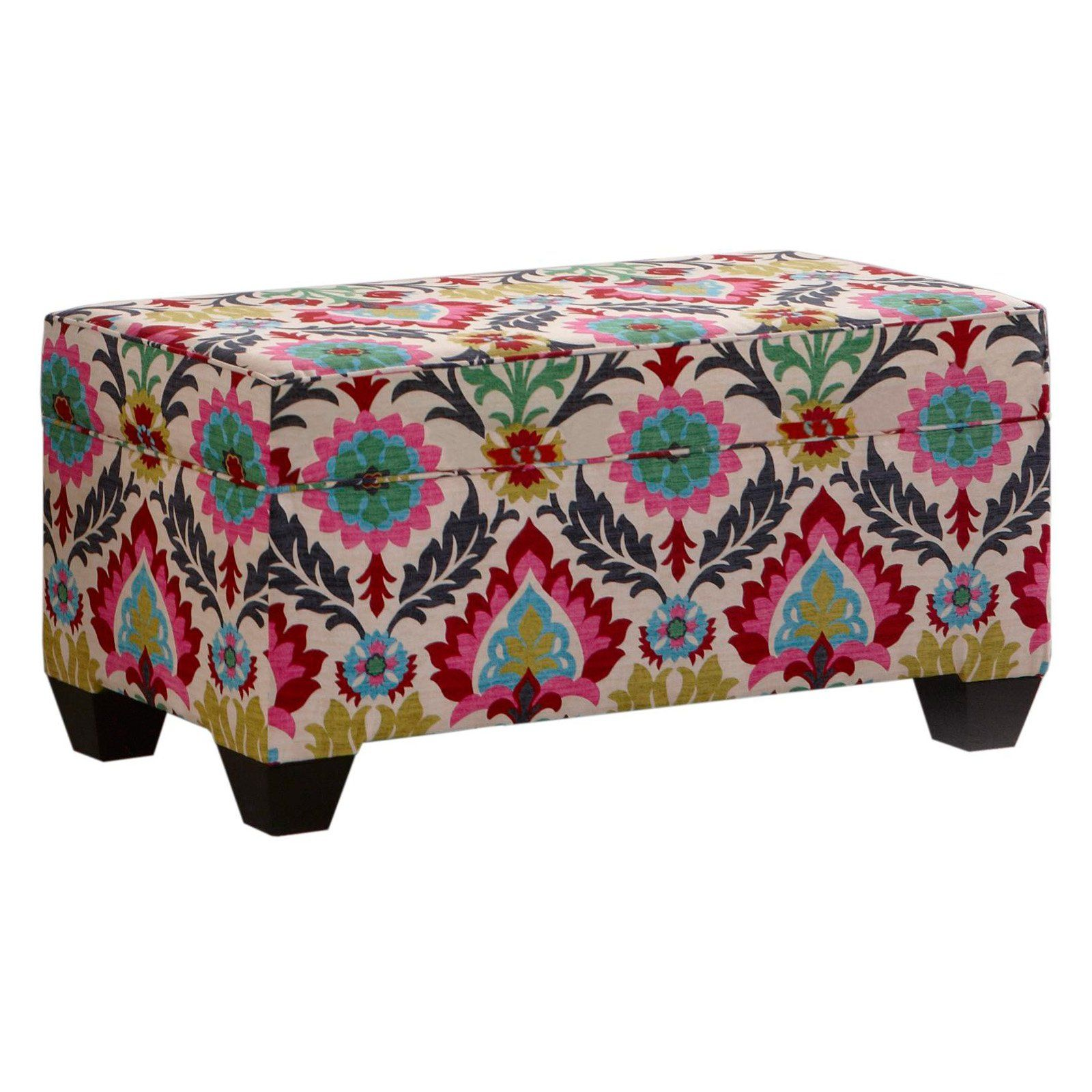 Attirant Skyline Storage Bench   Santa Maria Desert Flower   About Skyline Furniture  Manufacturing Inc.Skyline