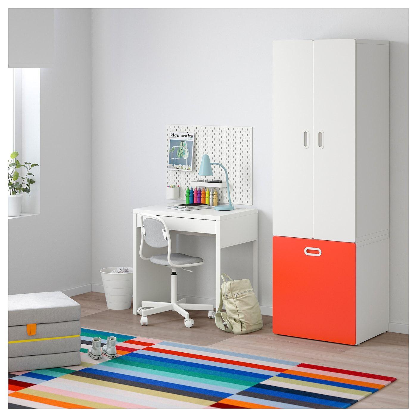 STUVA / FRITIDS Schrank mit Spielzeugaufbewahrung weiß