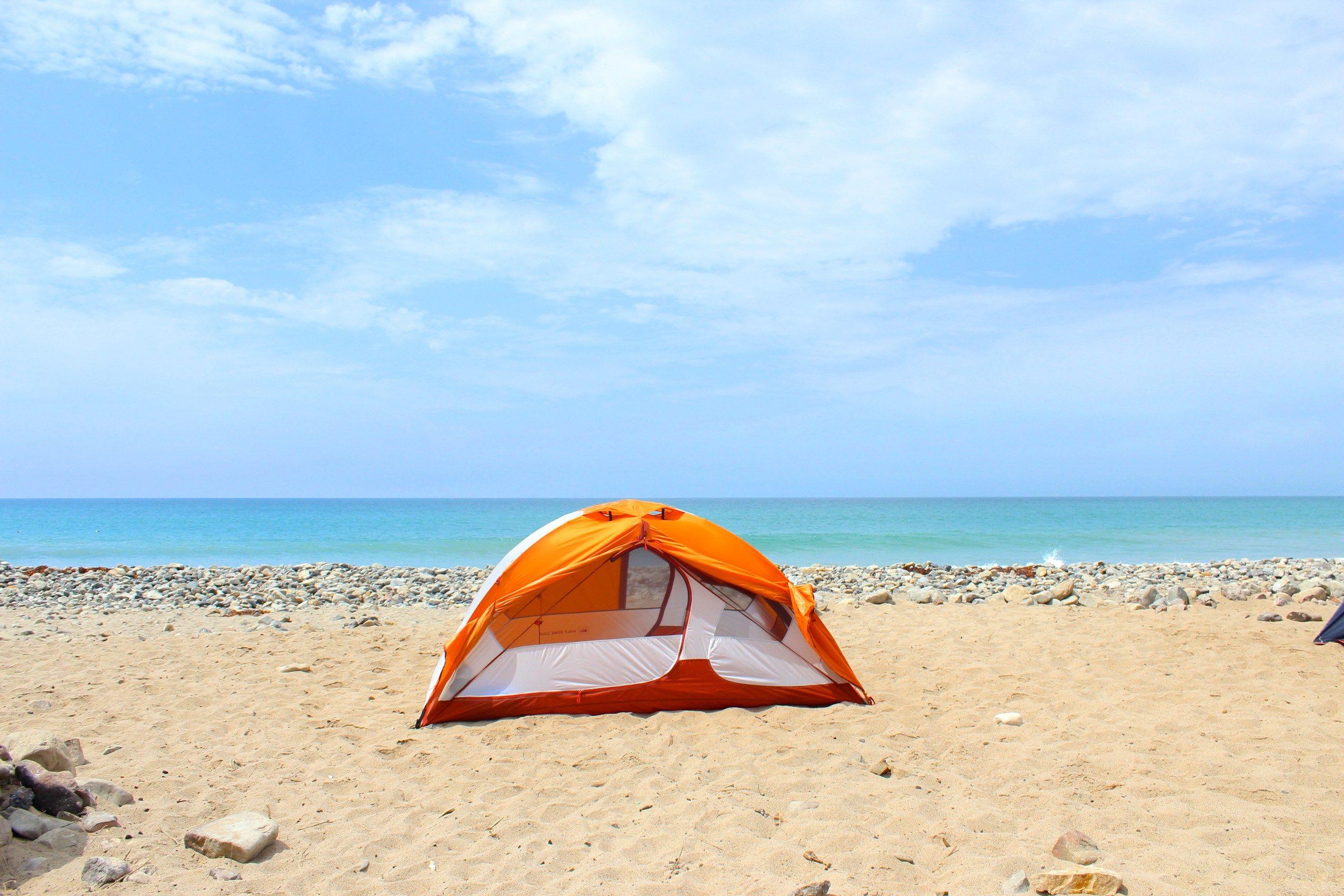 Camping And Hiking In Malibu