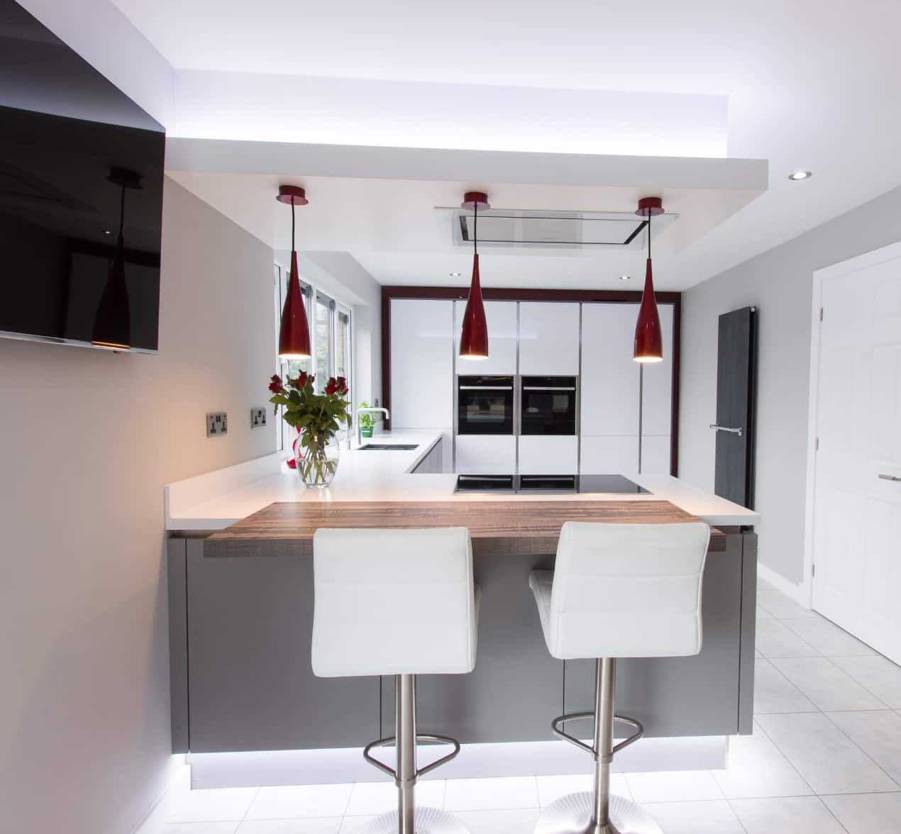 Best Ultra Modern Designer Kitchen With A Truly Individual 400 x 300