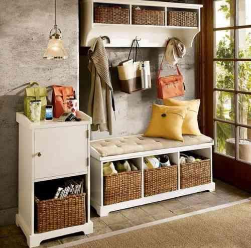 meuble de rangement pour l 39 entr e en 35 id es magnifiques entr e pinterest maison entr e. Black Bedroom Furniture Sets. Home Design Ideas