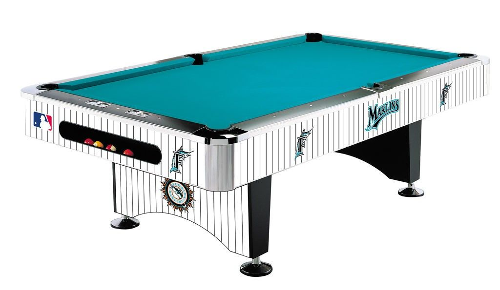 Miami Marlins Pool Table