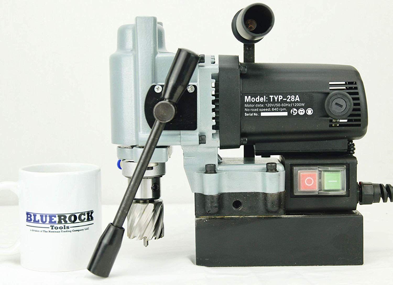 Typ 28a Mag Drill Bluerock Tools Mini Magnetic Drill Typhoon Small Mag Annular Magnetic Drill Mag Drill Drill