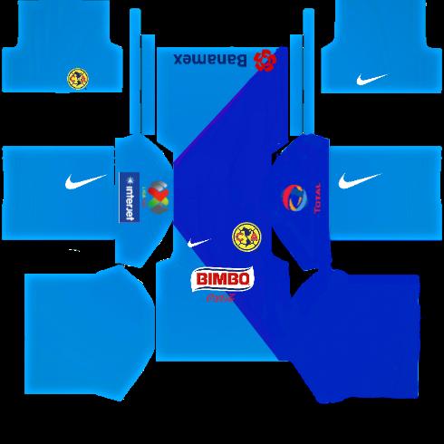 Dream League Soccer Kits America Do Mexico