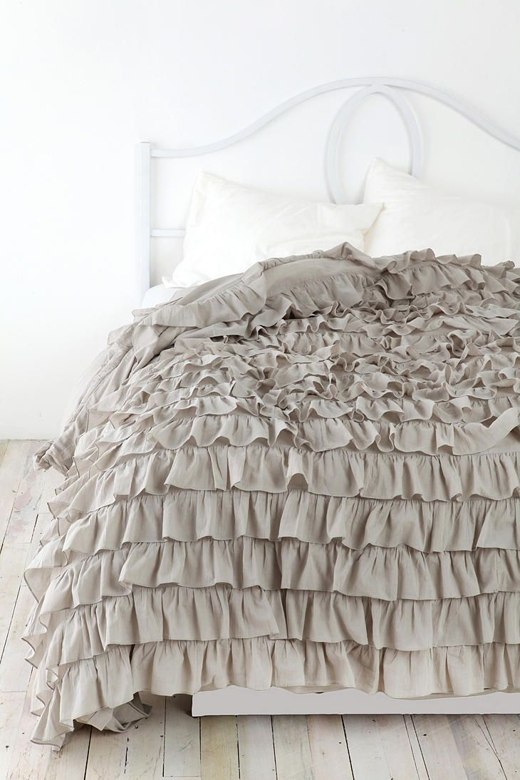 duvet ruffle ca tencel cover barn sham media pottery