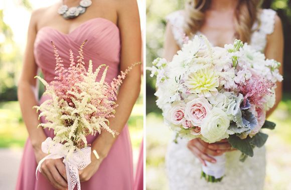 Bride & Bridemaids Bouquets | Southern Weddings Magazine