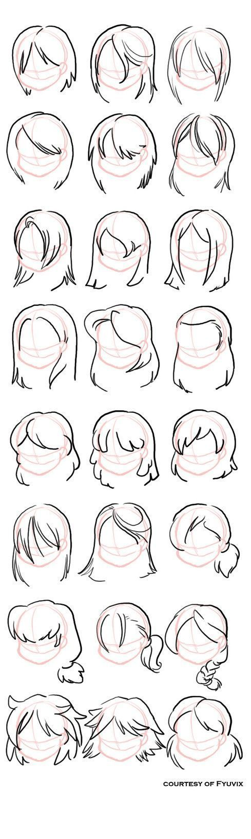 Photo of How to draw hairstyles – #dibujo #Draw #Hairstyles
