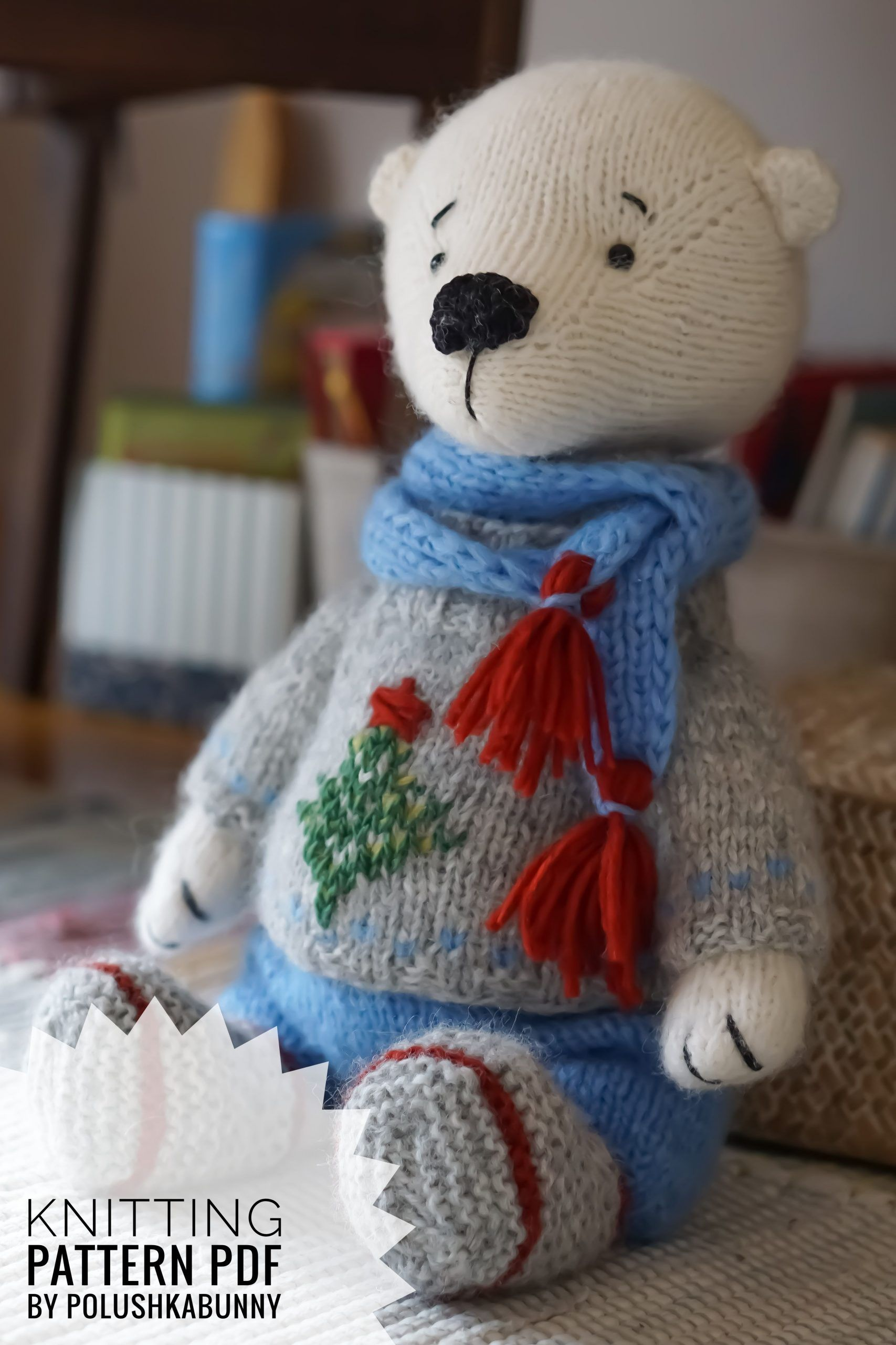 Knitting Pattern - Winter Outfit for Teddy Bear by ...