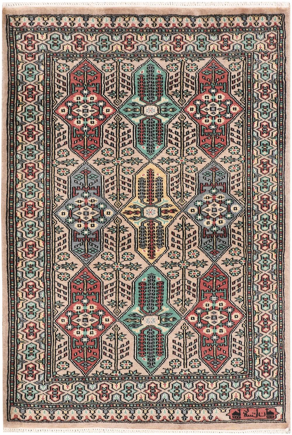 Buy Tan Caucasian 2 6 In 2020 Handmade Rug Bokhara Rugs Caucasian Rug