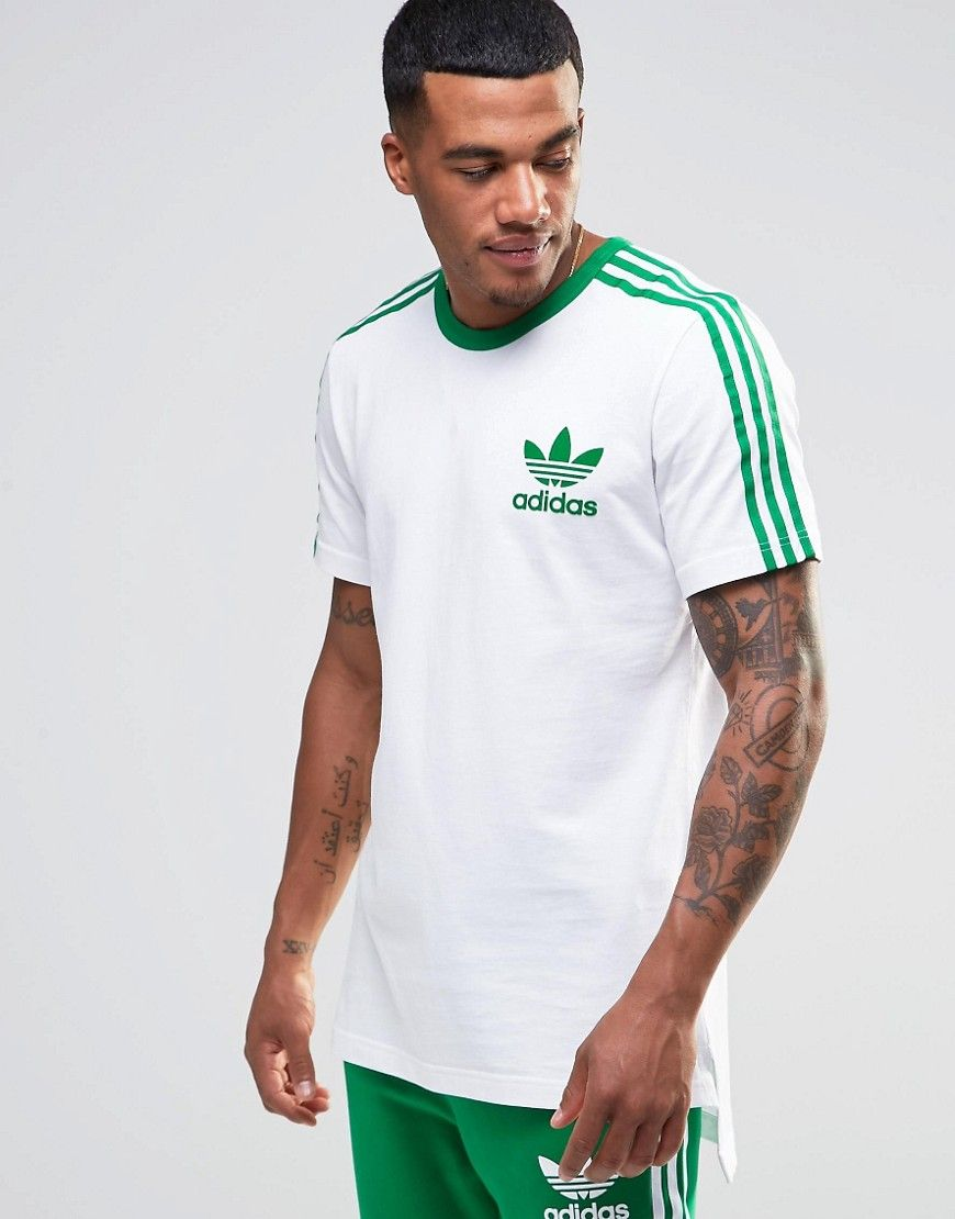 no sale tax 2018 sneakers new specials Image 1 of adidas Originals adicolor T-Shirt With Dropped ...