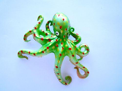 octopus wall decor   Tiki Bar Light Green Octopus Wall Decor-6 ...